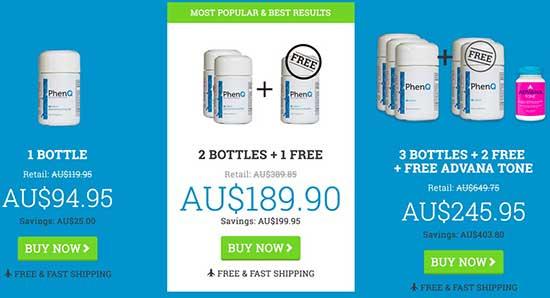 PhenQ in Australian dollars